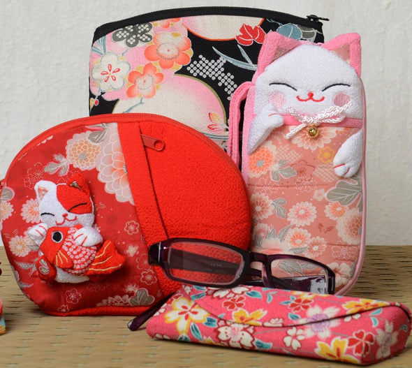 Pouches and Eye Glass Cases | Pac West Kimono