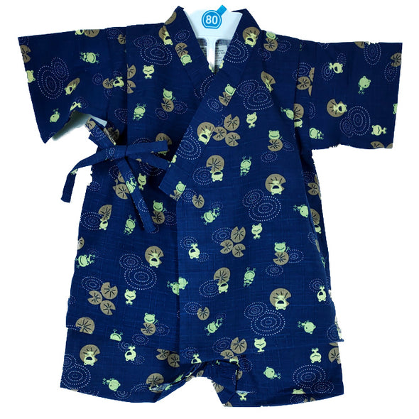 Boys 2pc Jinbei Frog design