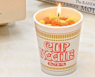 Cup Noodle Candle - Pac West Kimono
