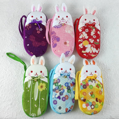 Cute Bunny Eye Glasses Case - Pac West Kimono