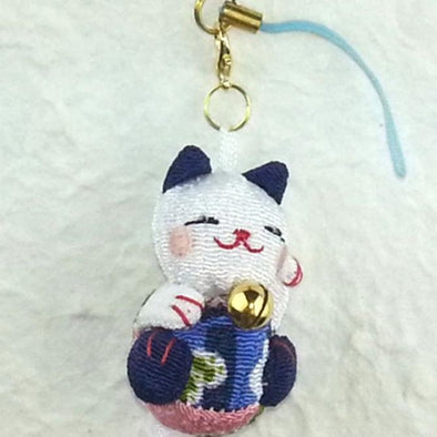 Cute Cat Cell Phone Charm - Pac West Kimono