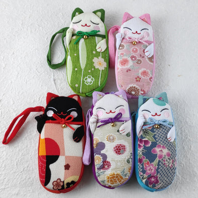 Cute Cat Eye Glasses Case - Pac West Kimono
