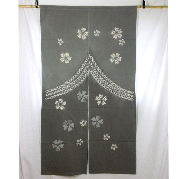 Noren Tapestry Cherry Blossoms Design - Pac West Kimono