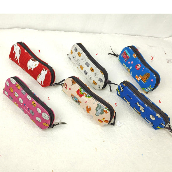 Reading Glasses Case. Cute Japanese fabric - Pac West Kimono