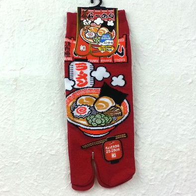 Split Toe Tabi Socks Ramen Design - Pac West Kimono