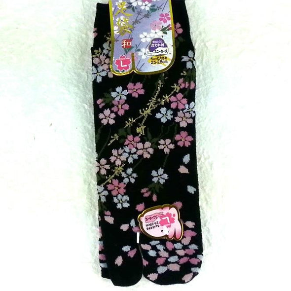 Split Toe Tabi Socks Sakura Cherry Blossoms Small - Pac West Kimono