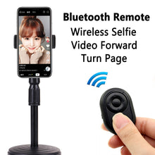 Laden Sie das Bild in den Galerie-Viewer, Hands Free Universal Bluetooth Remote Control for TikTok Youtube Ins ext. APP / E-Book Turn Page / Selfie Camera Shutter for iPhone iPad Samsung Mobile Phone