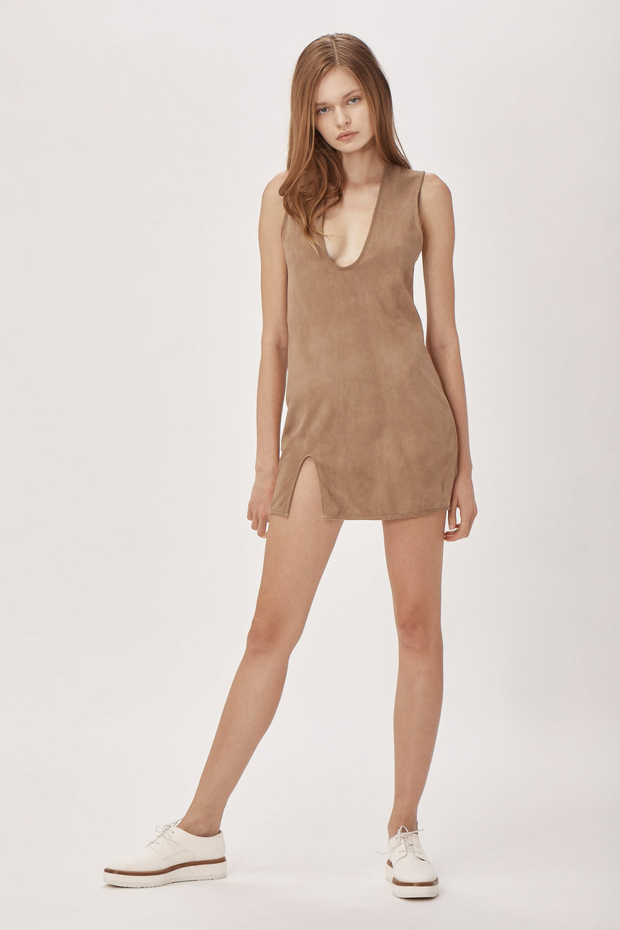 Frankie Suede Dress