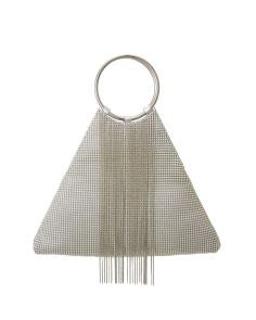 Whiting and Davis Triangle Fringe in Silver