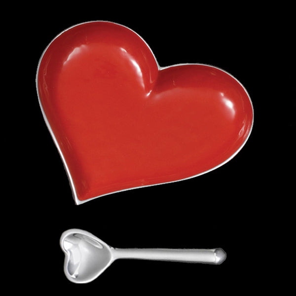 Inspired Generations Happy Red Heart with Spoon