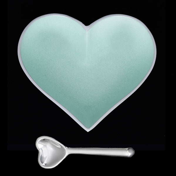Inspired Generations Happy Pistachio Sweet Tart Heart with Spoon