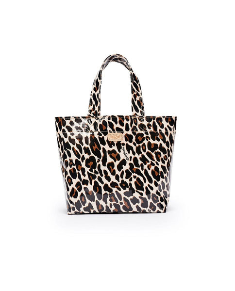 Consuela Grab-N-Go Mini Tote in Mona Brown Leopard