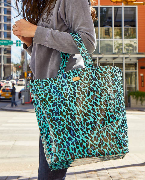 Consuela Lola Grab-N-Go Basic Tote Bag in Gem Ocean Jag