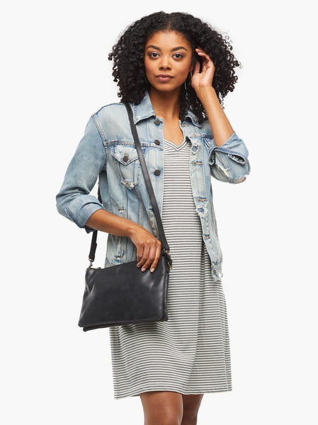 Able Martha Crossbody in Black