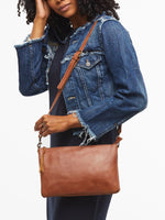 Able Martha Crossbody in Whiskey