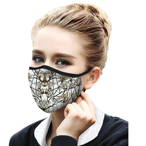 RAINCAPER TIFFANY MAGNOLIA REUSABLE FABRIC FACE MASK