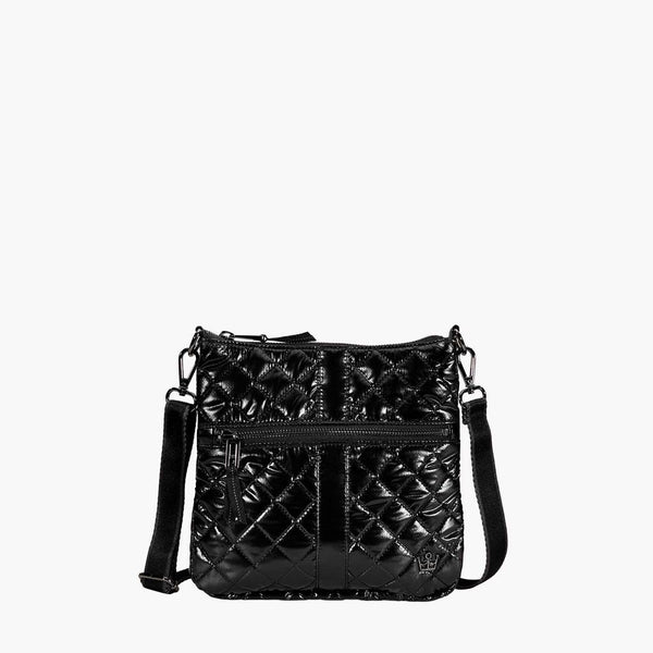 Oliver Thomas Kitchen Sink Cell Crossbody in Dark Side Metallic