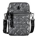 Oliver Thomas 24+7 Crossbody/Belt Bag in Gunmetal