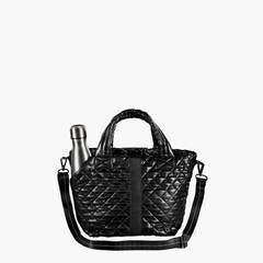 Oliver Thomas Small KST Tote in Dark Side Metallic