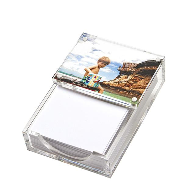 Tara Wilson Beveled Clear Acrylic Paper Holder