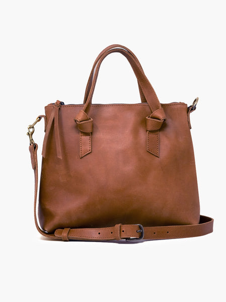 Able Rachel Crossbody Tote in Whiskey