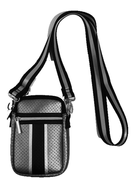 Haute Shore Casey Crossbody in Gunmetal Metallic