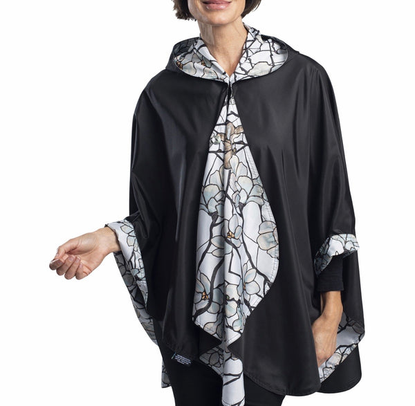 FINE ART RAINCAPER - TIFFANY MAGNOLIA TRAVEL CAPE