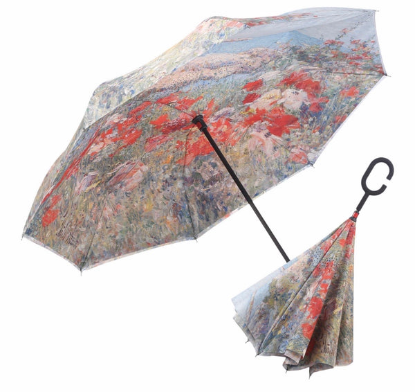 RAINCAPER Hassam Celia's Garden/ Isle of Shoals Reverse Umbrella