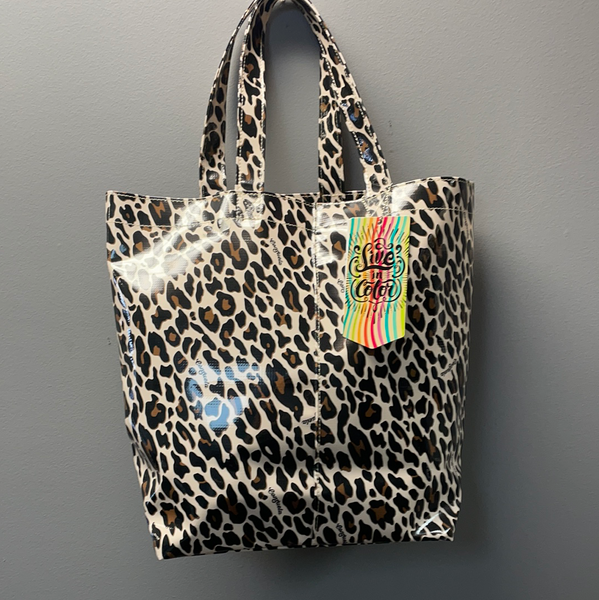 Consuela Lola Grab-N-Go Basic Tote Bag in Mona Brown Leopard