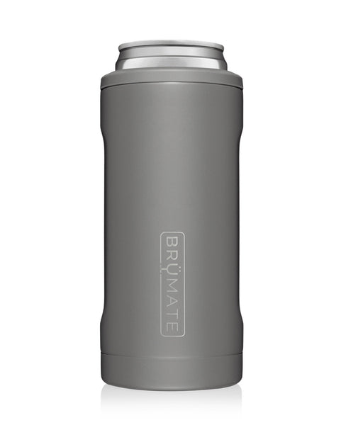 BruMate Hopsulator Slim in Matte Gray