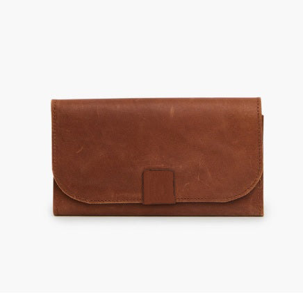 Able Kene Wallet in Whiskey