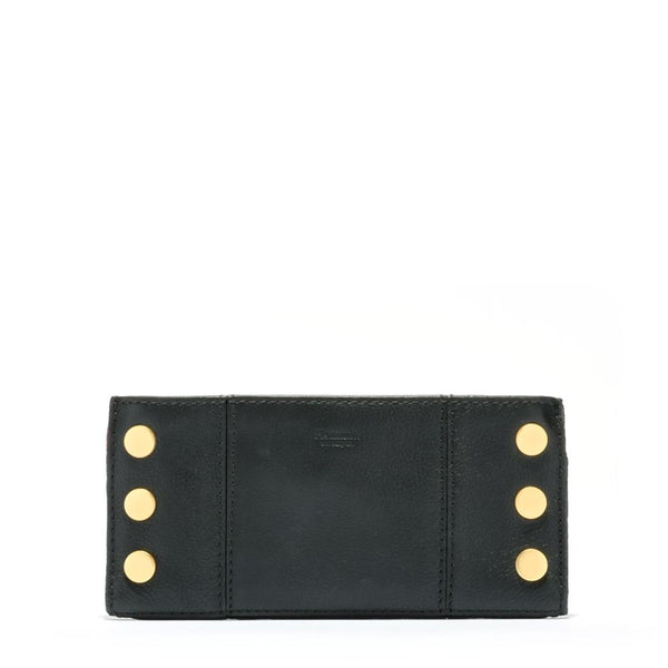 Hammitt 110 North Wallet in Black/Brushed Gold