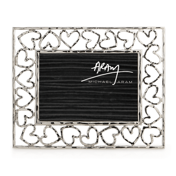 Michael Aram Heart Picture Frame Silver Finish