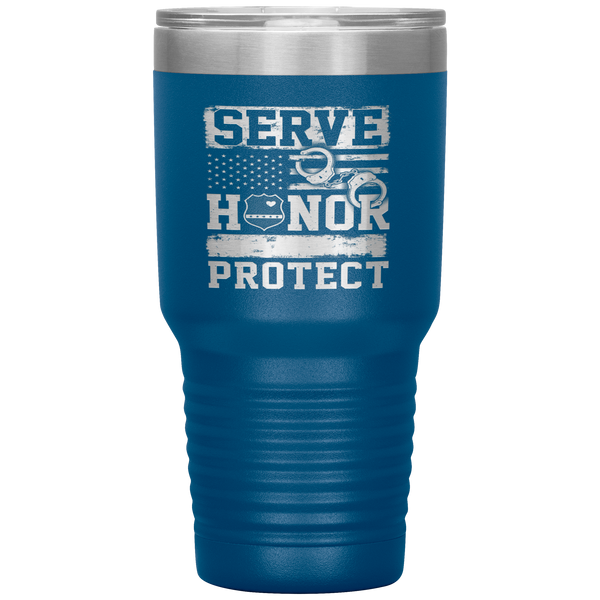 Serve Honor Protect 30oz Tumbler