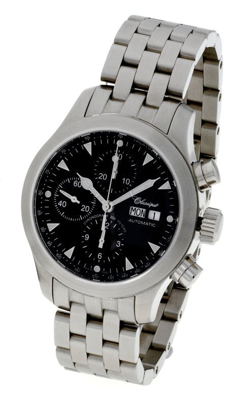 Chronograph Swiss 200m Stainless Steel Automatic Watch