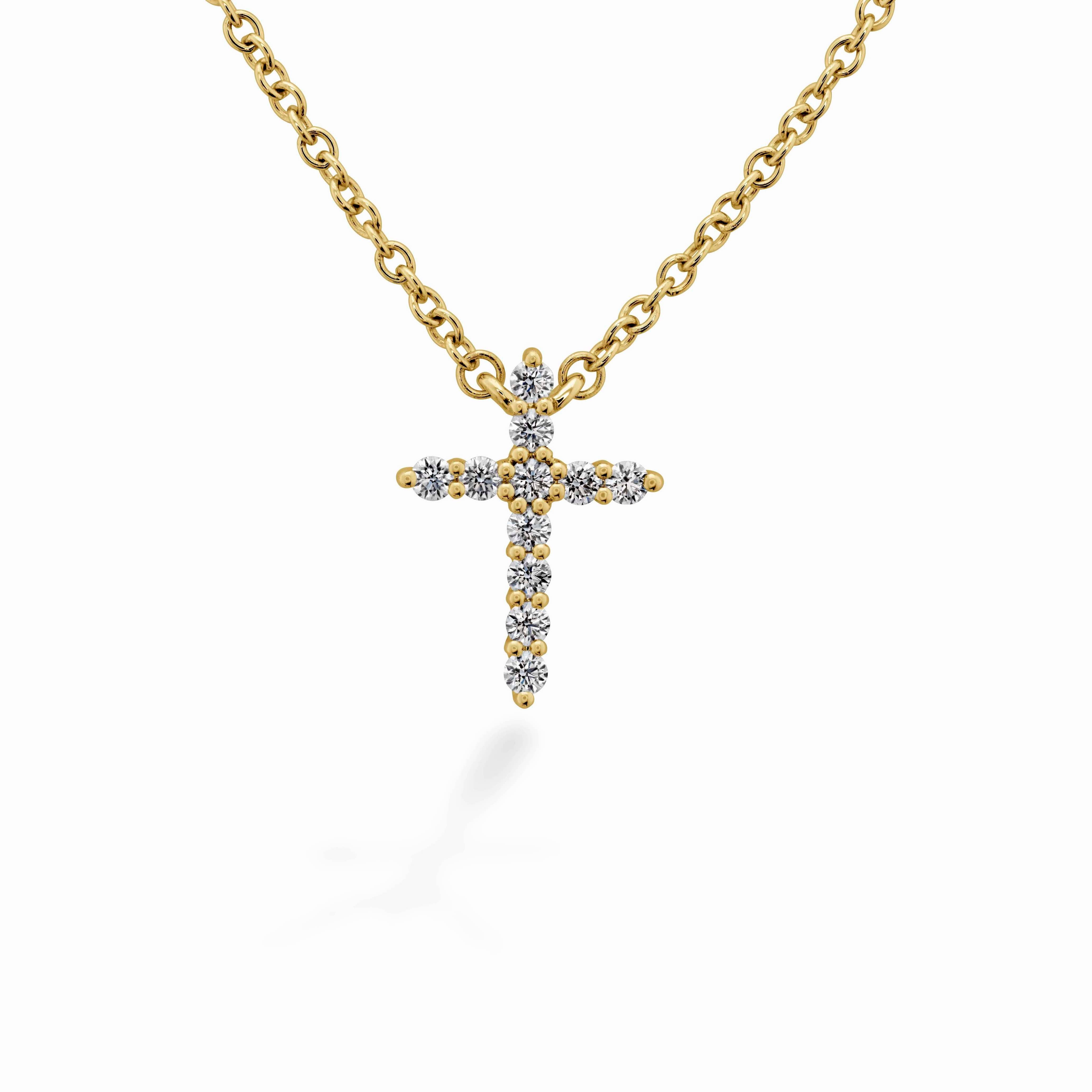 Signature Cross Pendant - Small