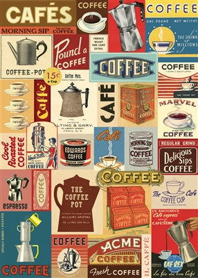 Coffee Vintage Reproduction Poster