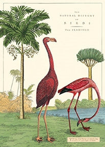 Flamingo Vintage Reproduction Poster