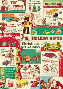 Vintage Toy Catalog Vintage Reproduction Poster