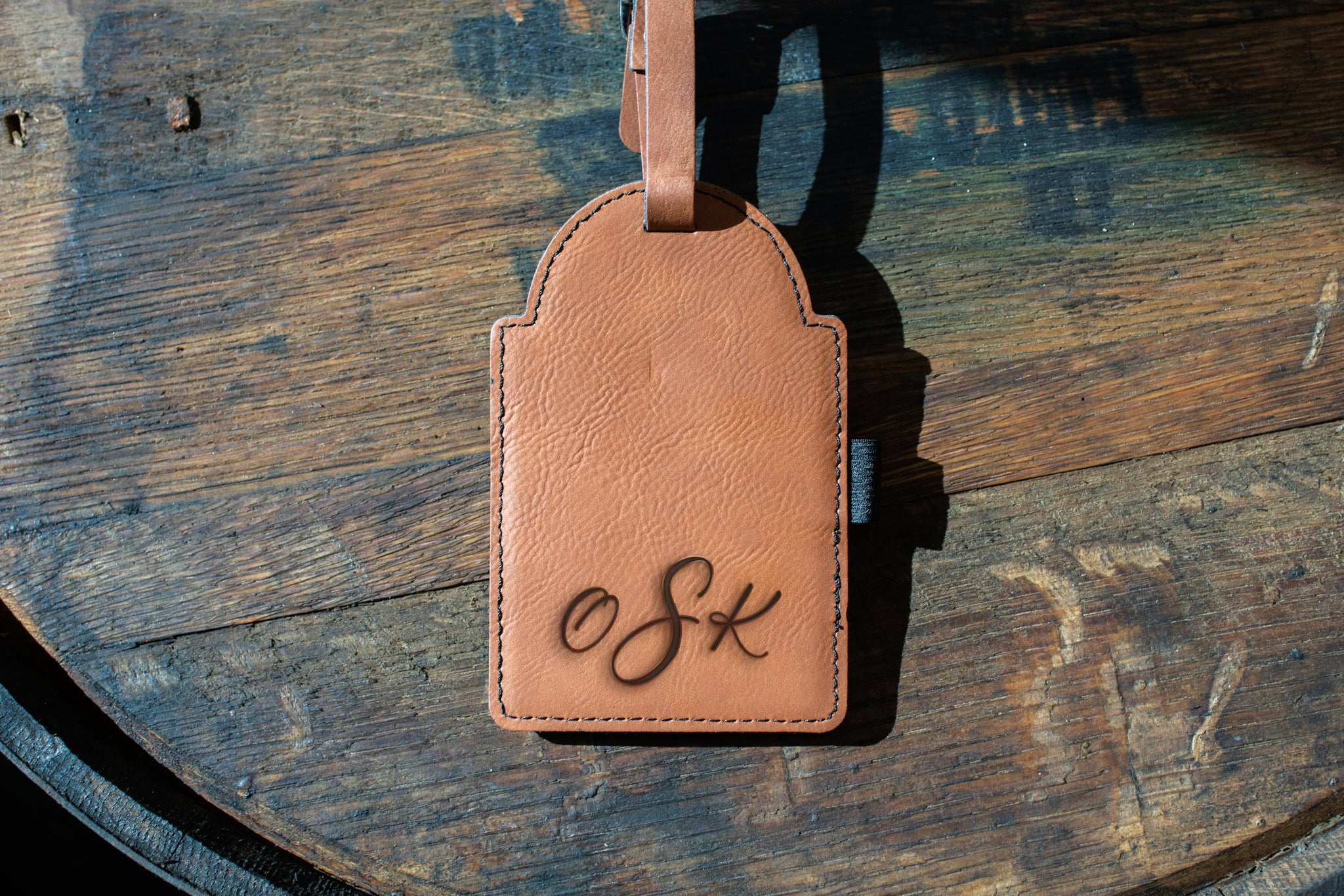 Golf Bag Tag (cursive)