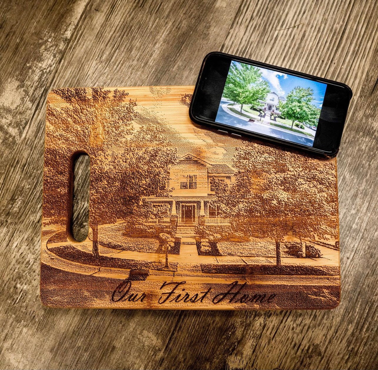 Your Photo Cutting Board