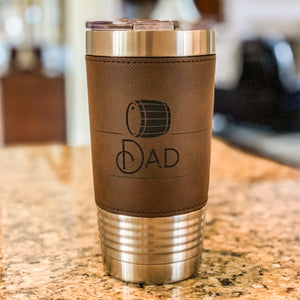 Whiskey Barrel Dad Tumbler