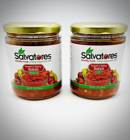 Sweet and Spicy Salsa Sampler