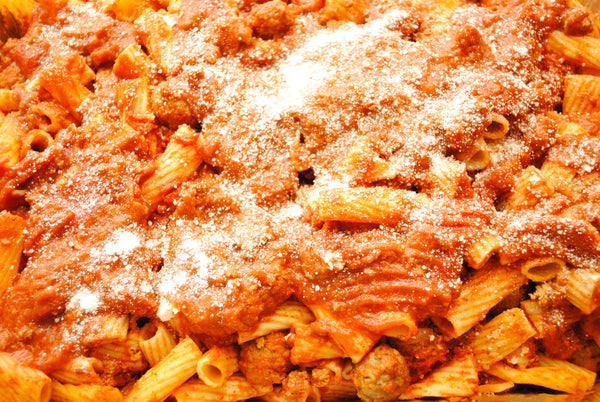 Fresh Made Frozen Artisan Ziti-Rigati Pasta