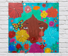 "Load image into Gallery viewer, ""Flower Child- Paper Print"