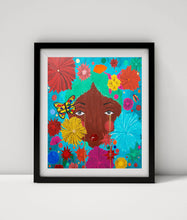 "Load image into Gallery viewer, ""Flower Child"" Mini Print"