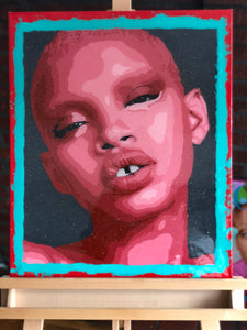 """Slick Woods"" Original 20x24"