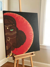 "Load image into Gallery viewer, ""Queen"" Original Painting 36x36"