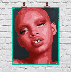 """Slick Woods"" Mini Print"