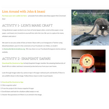 Load image into Gallery viewer, Home Safari (Cincinnati Zoo & Botanical Garden)